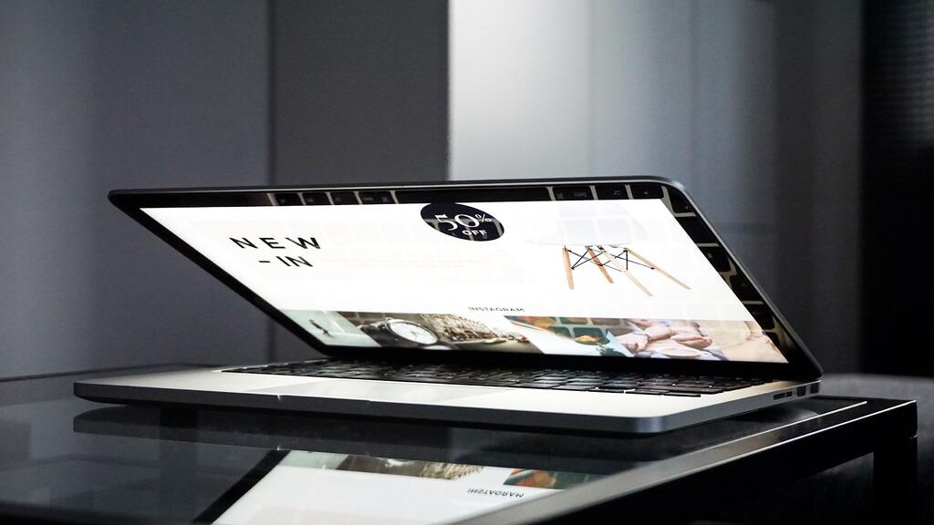 portàtil amb web
