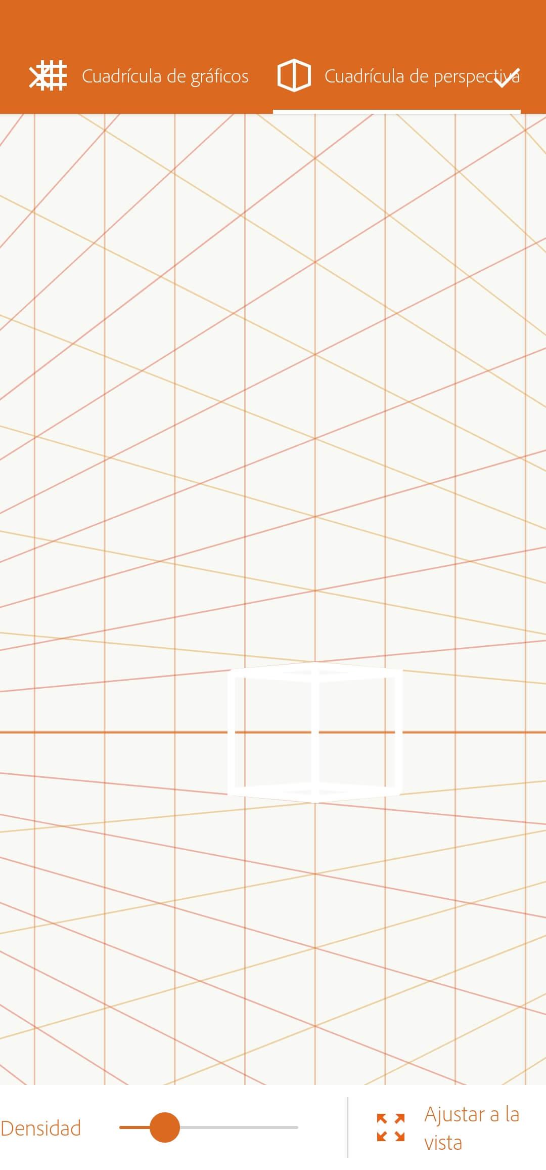 quadrícula perspectiva - adobe draw