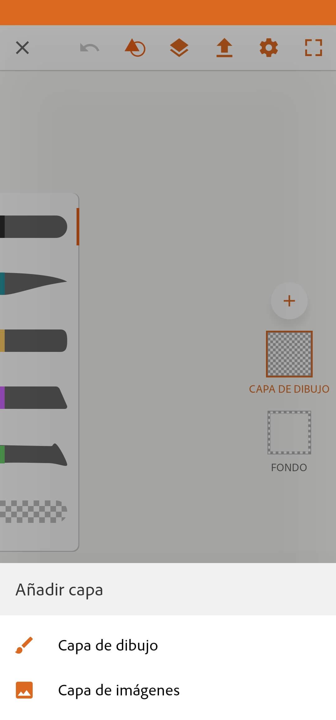 nova capa - adobe draw